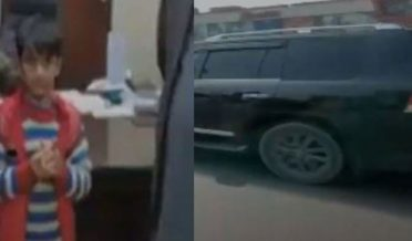 ملتان پولیس نے بوسن روڈ پر گاڑی چلانے والے کم سن بچے کا پتہ لگالیا